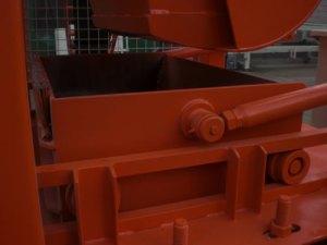 станок для производства брусчатки