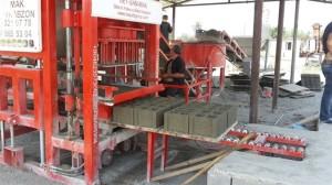 линия для производства блоков